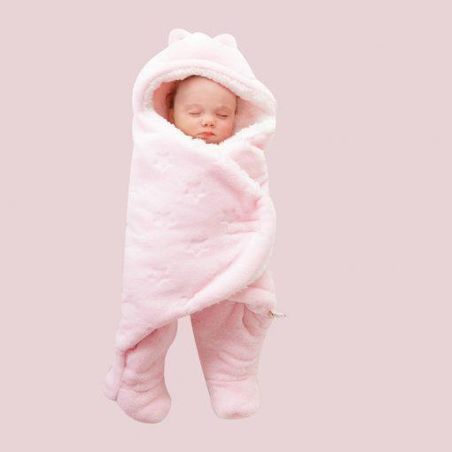 baby girl dresses, baby girl, Pink Fleece Sleeping Bag