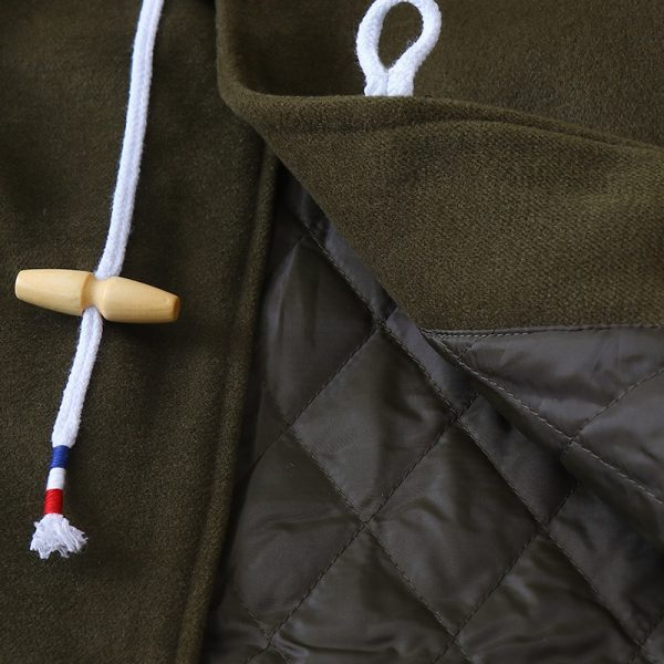 Winter Collection, Stylish Army Green Coat