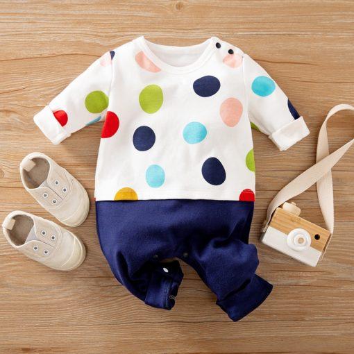 Polka Dot Multi Color Jumpsuit