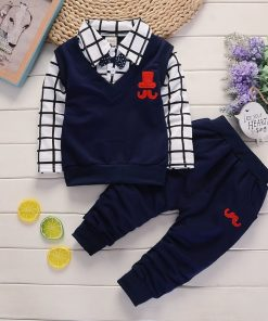 Elegant Boy Top Trouser Set