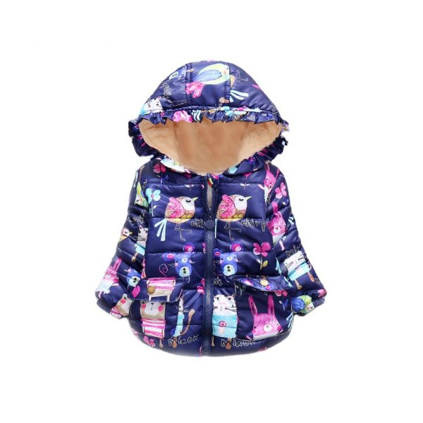 Fancy Graffiti Hoodie Jacket